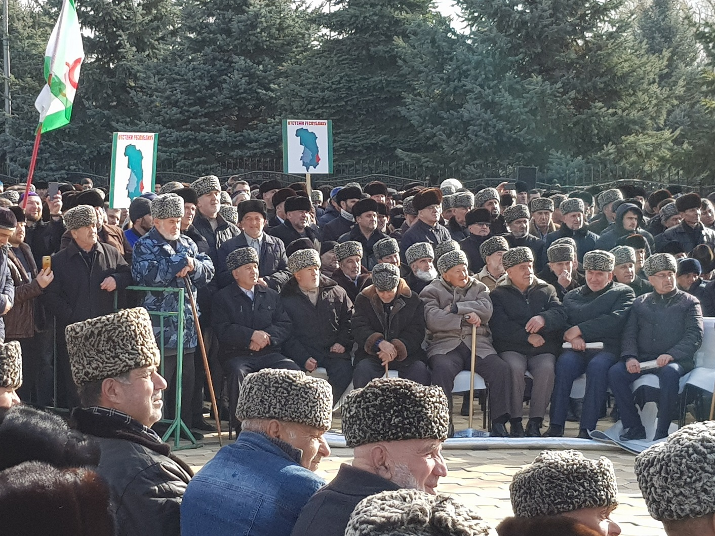Ingushetia protest