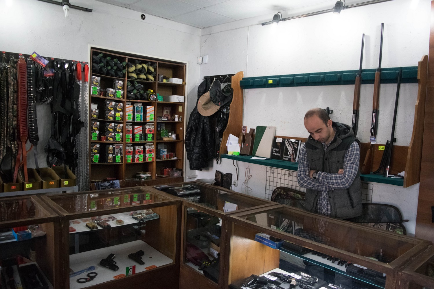 A hunting shop is also planning to move