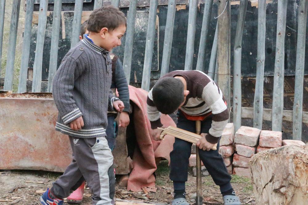 Children in Gachiani (Gita Elibekyan /OC Media)