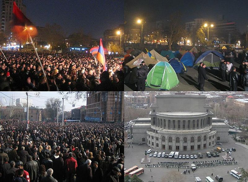 Caucasus governments remain silent on Belarusian revolution