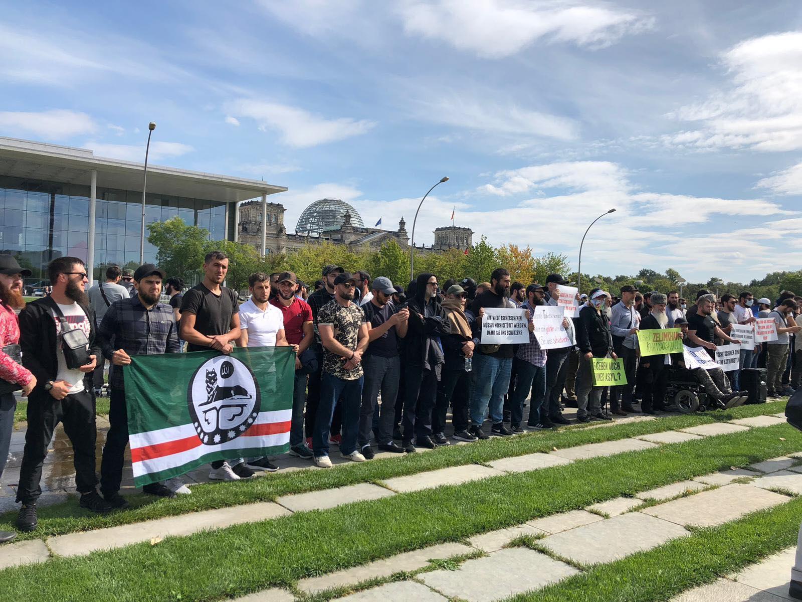 Zelimkhan Khangoshvili protest
