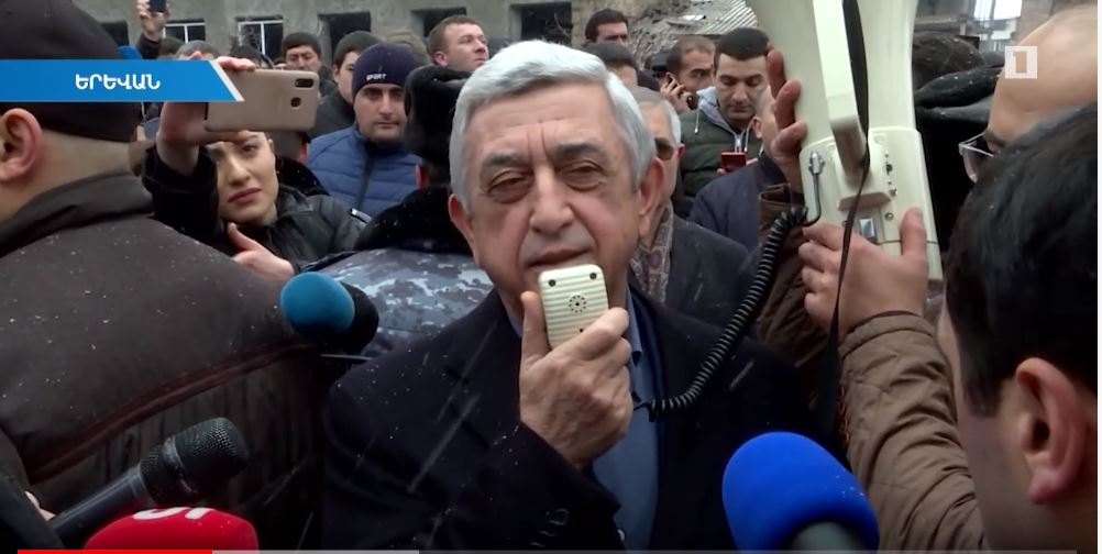 Armenia's ex-President Serzh Sargsyan goes on trial