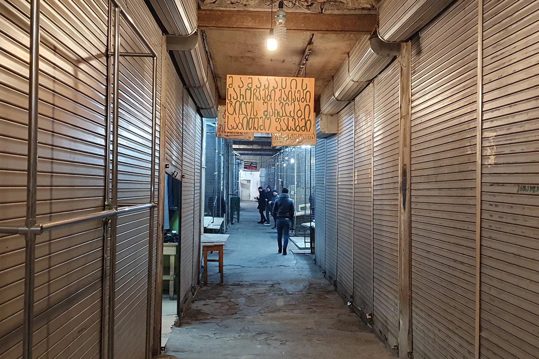 Many of the stalls are closed. Photo:Dominik K Cagara/OCMedia.