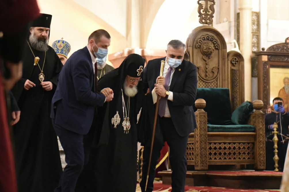 Patriarch IliaII. Photo:MariamNikuradze/OCMedia.