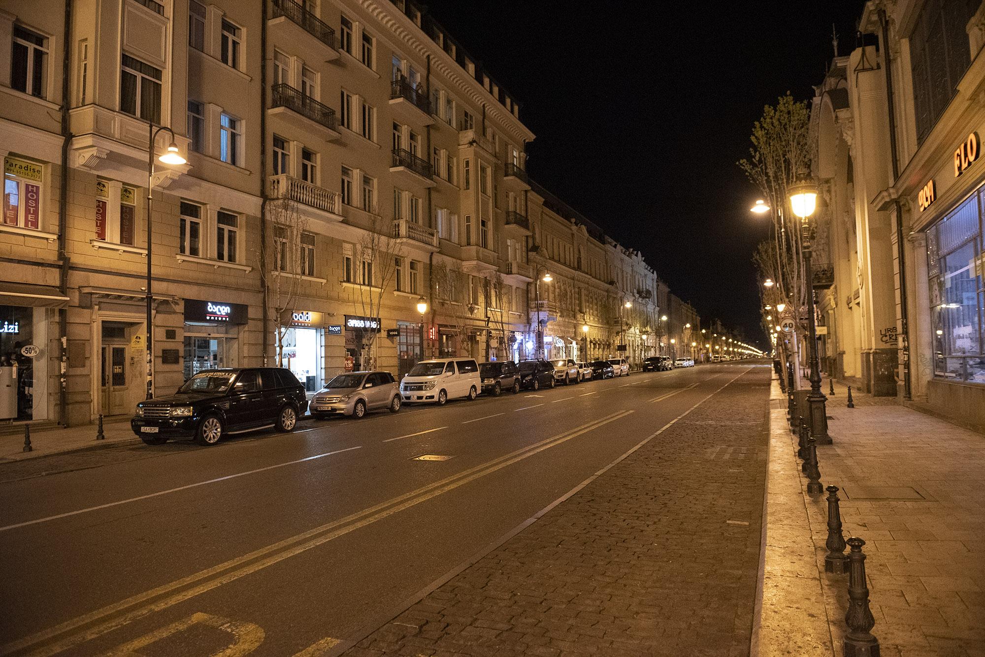 Aghmashenebeli Avenu. Photo: Mariam Nikuradze/OC Media.