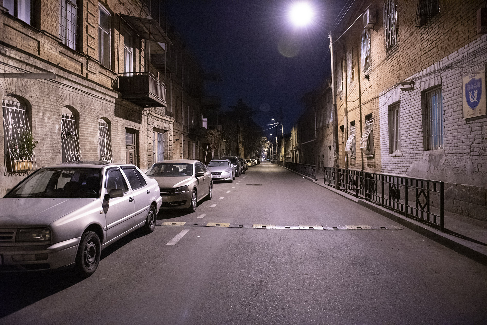 Giorgi Chubinashvili Street. Photo: Mariam Nikuradze/OC Media