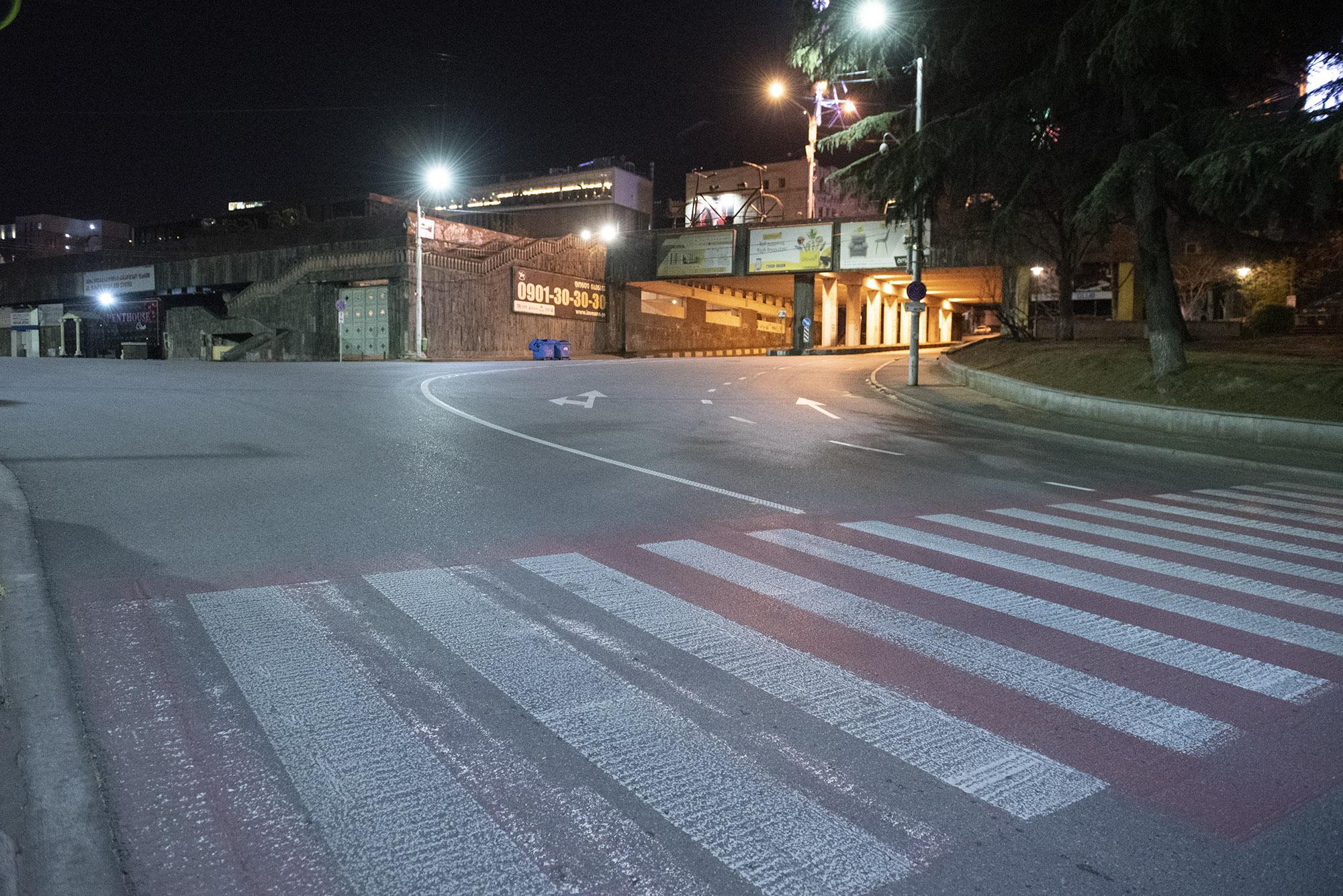 Mikheil Javakhishvili Street. Photo: Mariam Nikuradze/OC Media