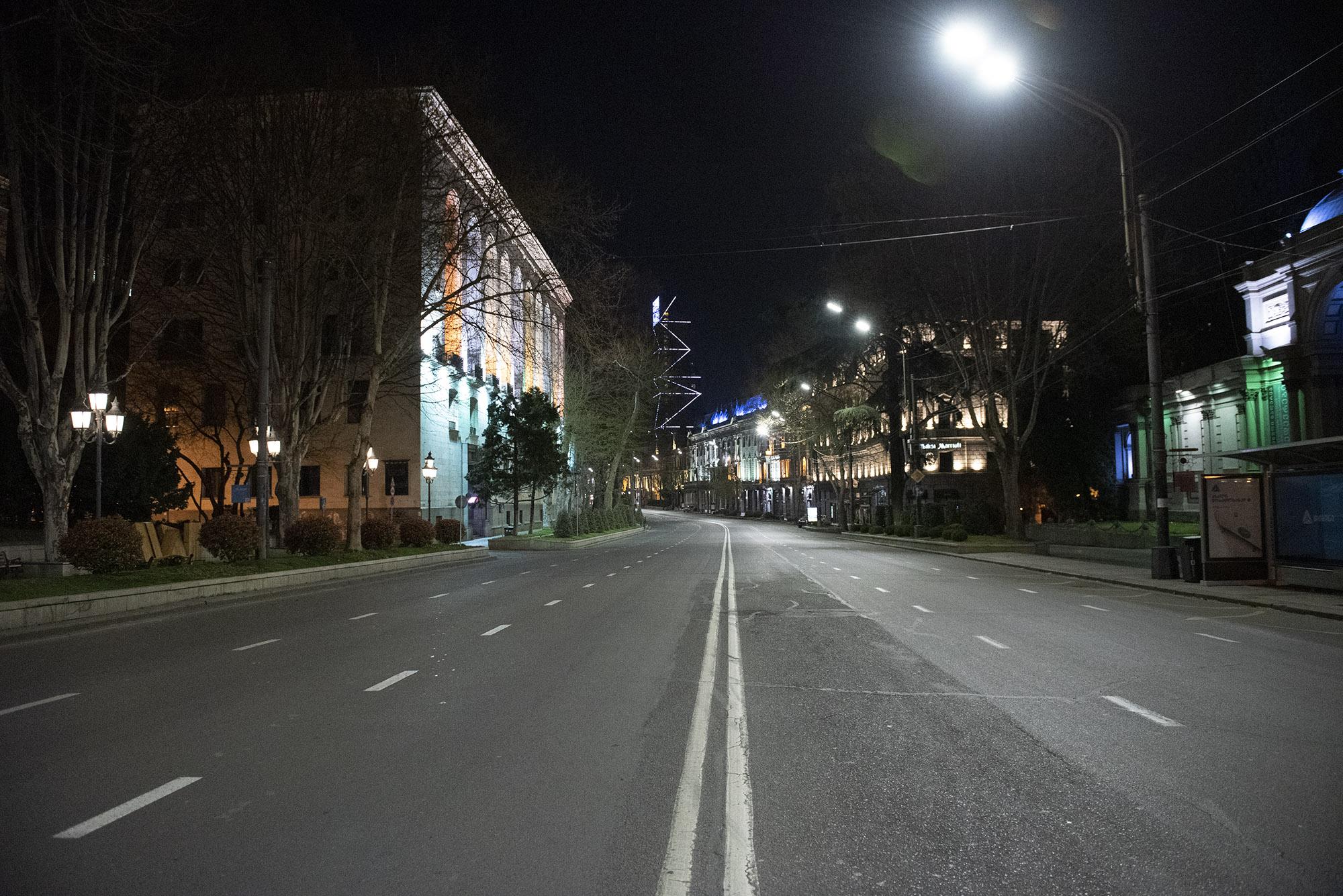 Rustaveli Avenue. Photo: Mariam Nikuradze/OC Media