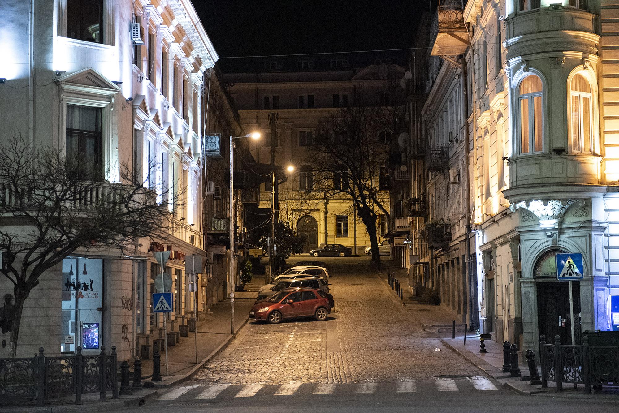 Mitropan Laghidze Street. Photo: Mariam Nikuradze/OC Media