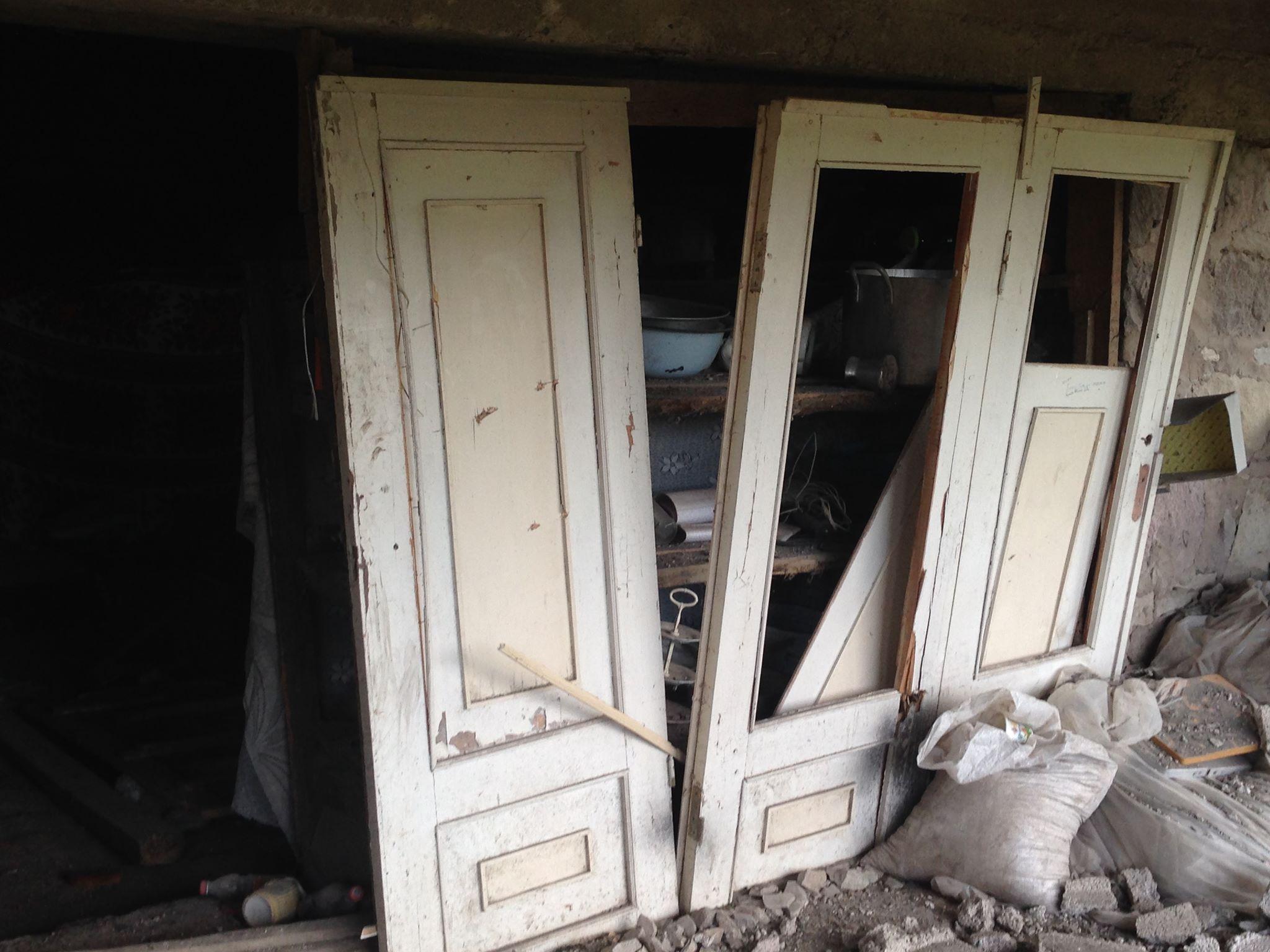 Many houses in the Tavush region were badly damaged. Photo: Armine Avetisyan / OC Media.