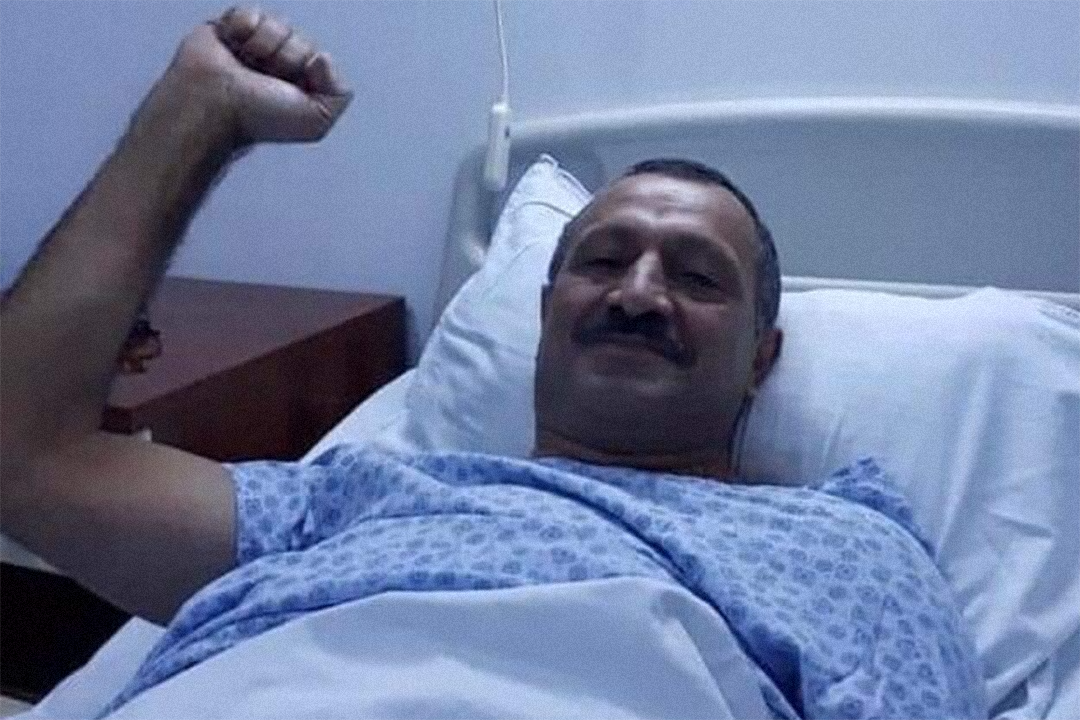 Hunger striking Azerbaijani opposition leader 'to stop drinking water'