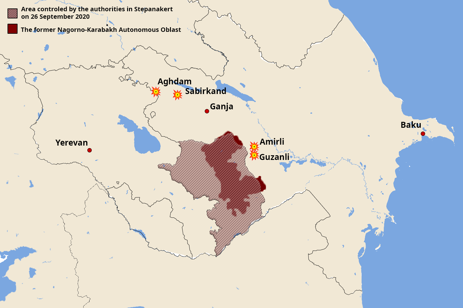 Live Updates Fighting Continues For Sixth Day In Nagorno Karabakh