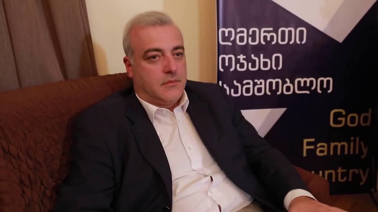 Irakli Gogava founded the Georgians for Trump movement.