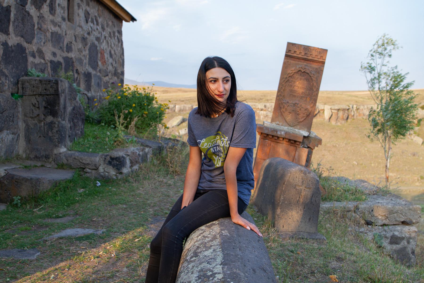 Zuzan Khuboyan. Photo: Hermine Virabian/OC Media.