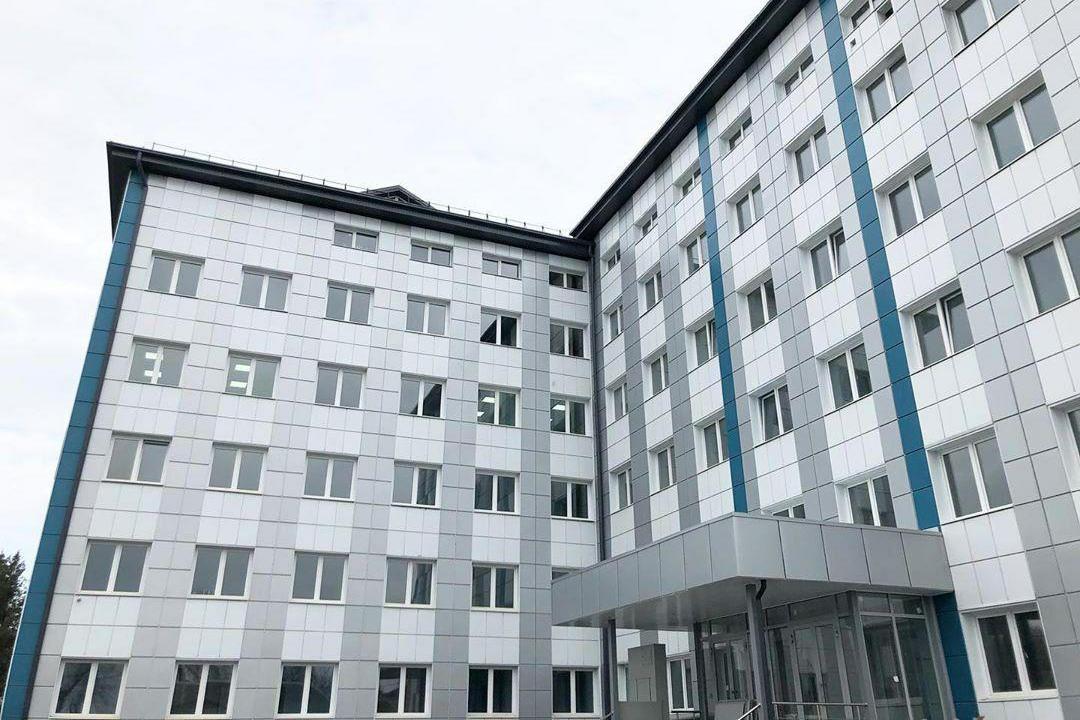 1-я городская больница Нальчика. Фото: Казбек Коков / Инстаграм.