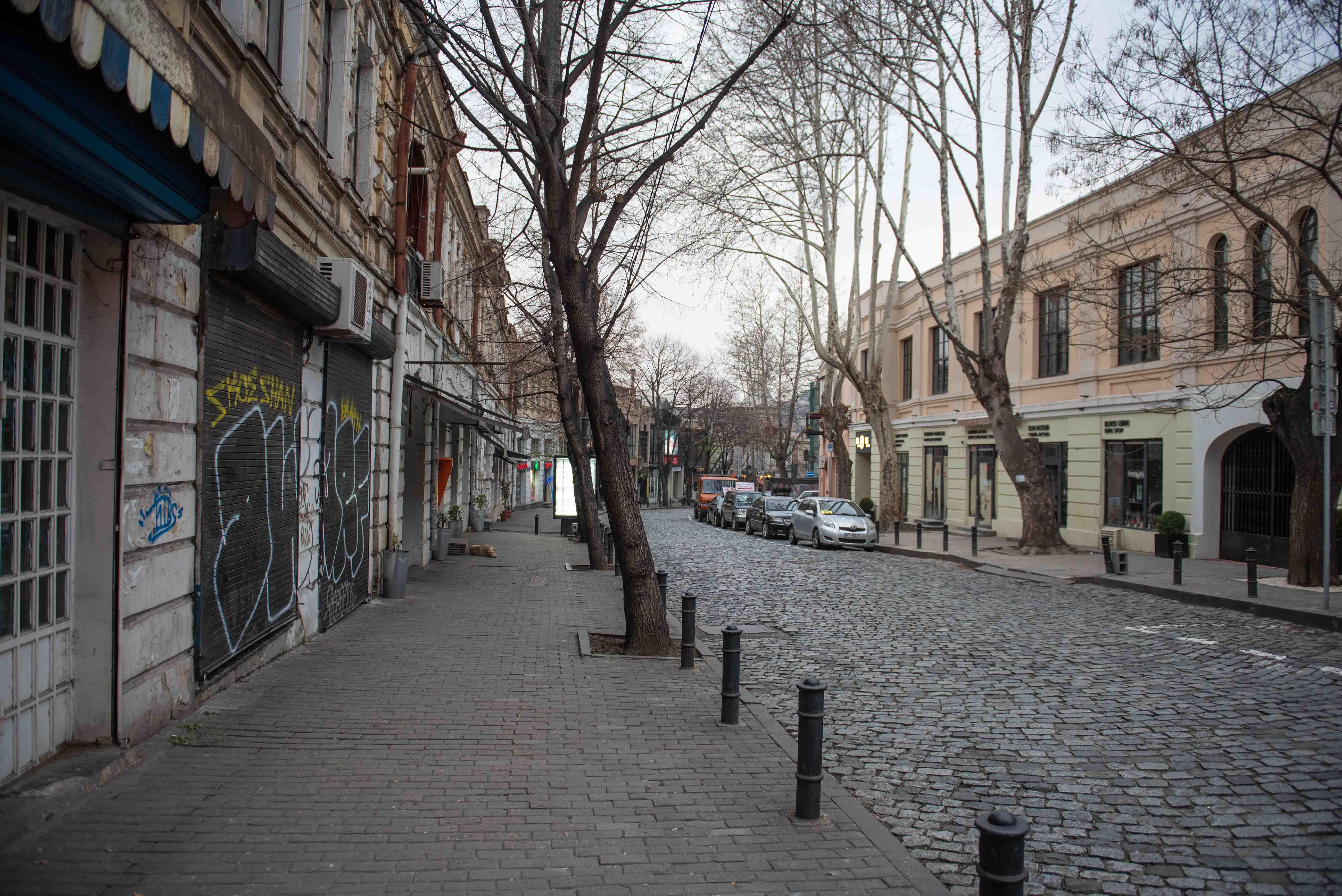 Улица Коте Апхази: Фото: Мариам Никурадзе/OC Media.