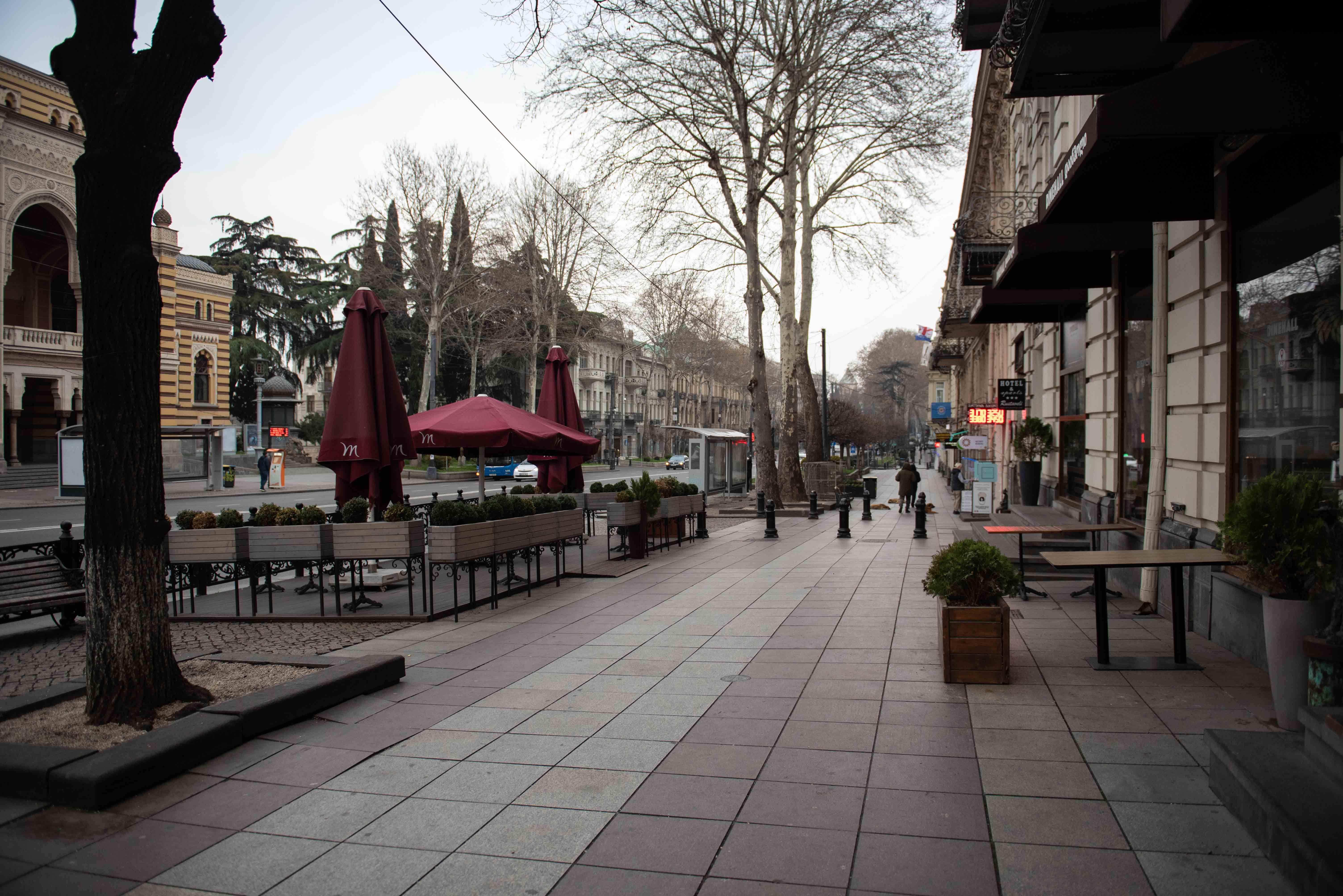 Улица Руставели. Фото: Мариам Никурадзе/OC Media.