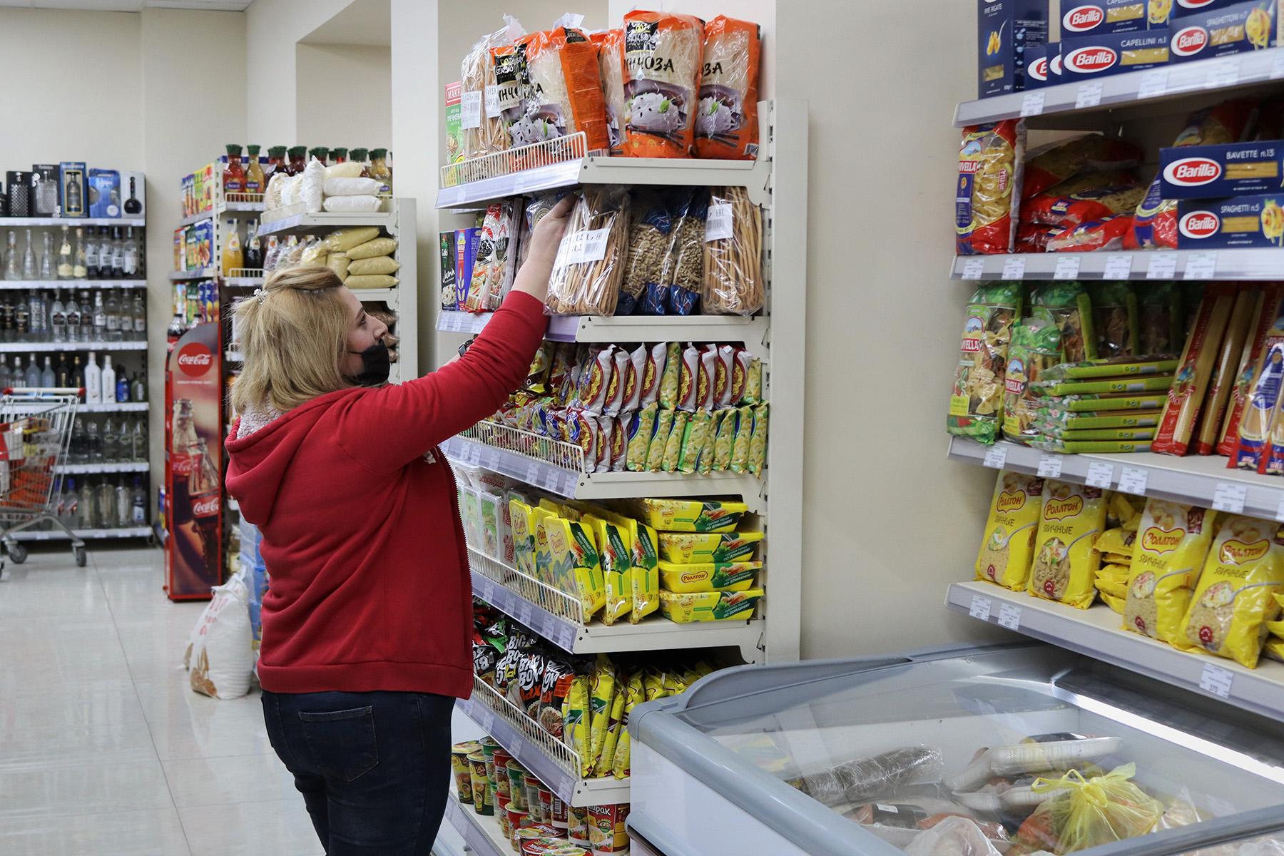 Супермаркет в Гюмри. Фото: Анаит Арутюнян/OC Media.