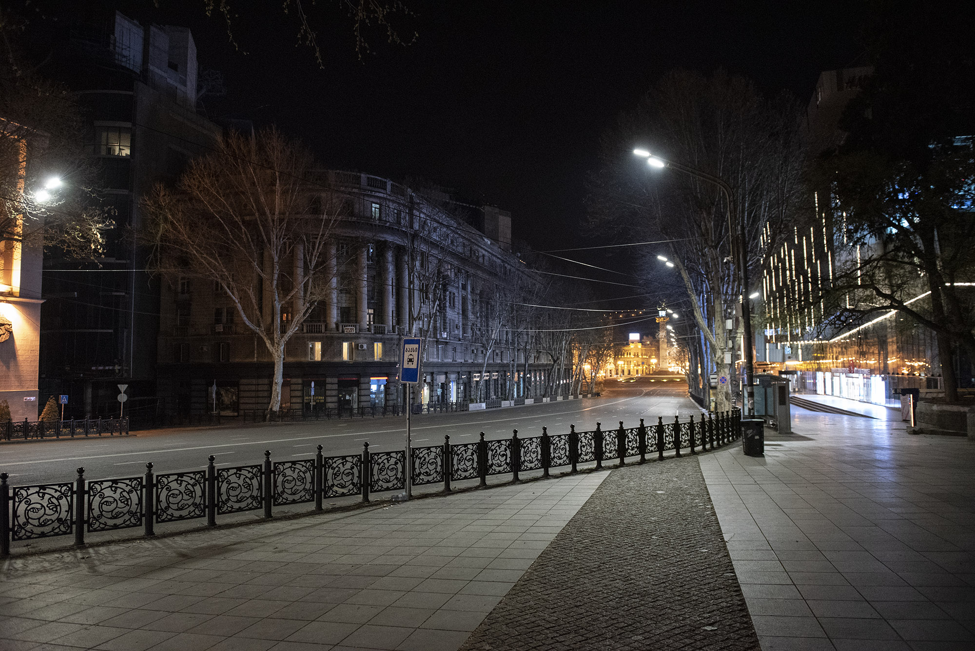 Проспект Руставели. Фото: Мариам Никурадзе/OC Media