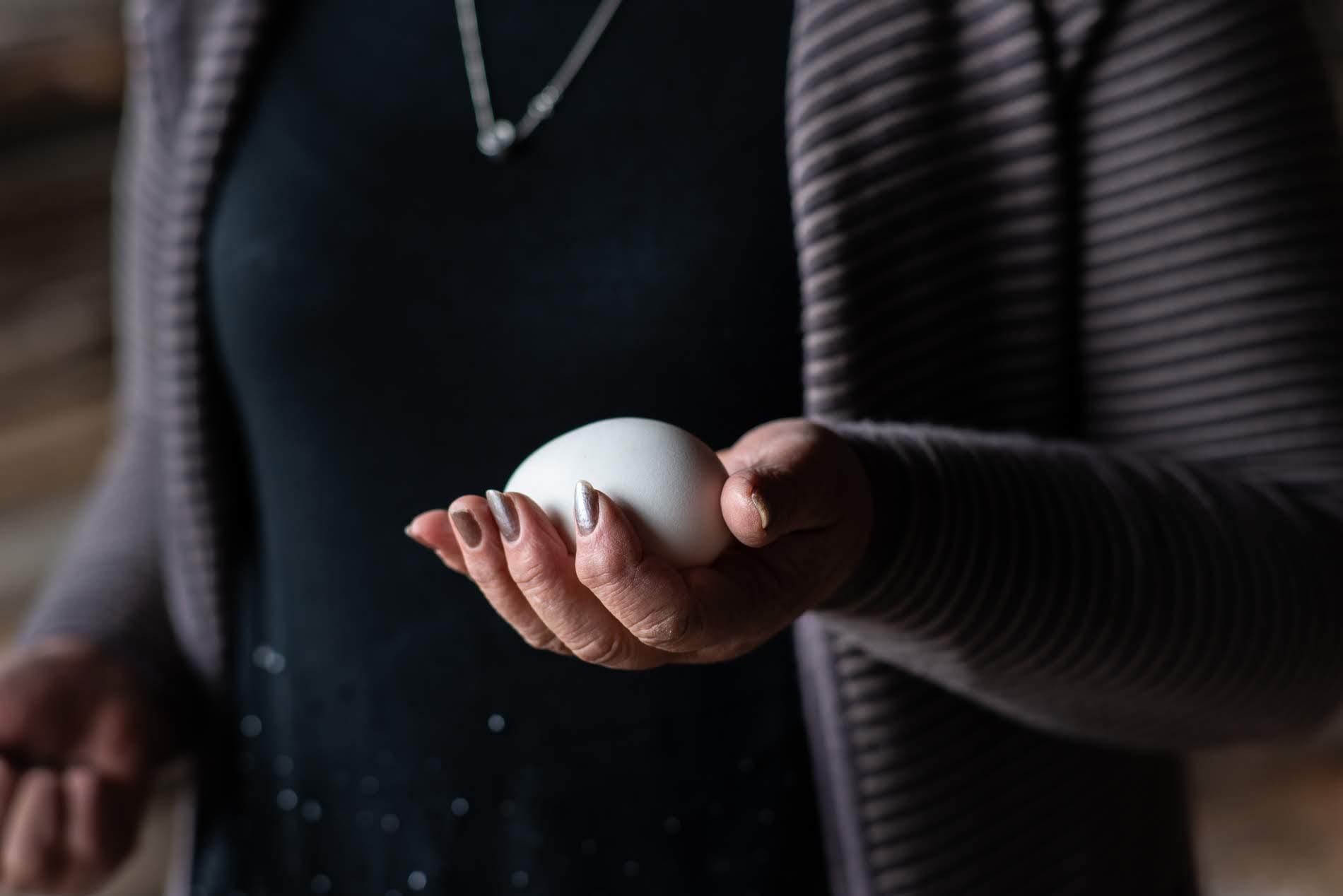 Нуну также разводит гусей. Фото: Тамуна Чкареули / OC Media